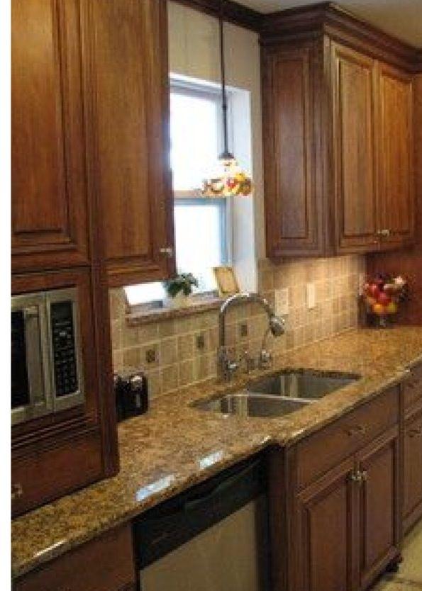 Cabinets Backsplash Kitchen Remodel Pinterest