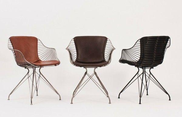 lederst hle metall m bel design ideen interieur design pinterest. Black Bedroom Furniture Sets. Home Design Ideas