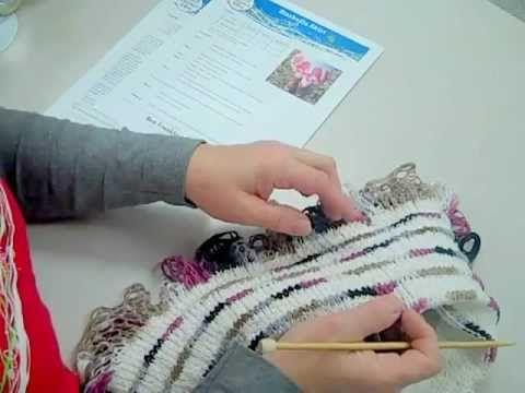 Premier Crocheted Grand Picots Scarf Crochet Pattern