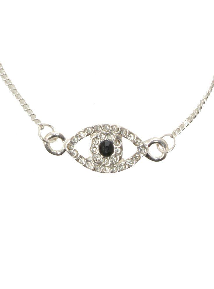 lovesick evil eye necklace