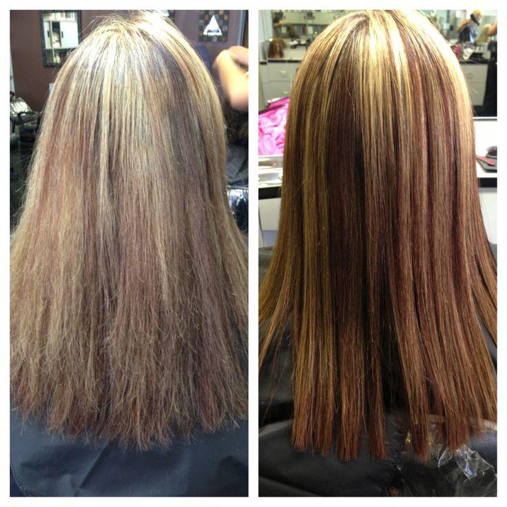 Inova Keratin Treatment Before And After Hair