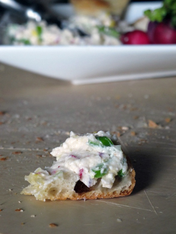 Feta radish dip | Sides | Pinterest