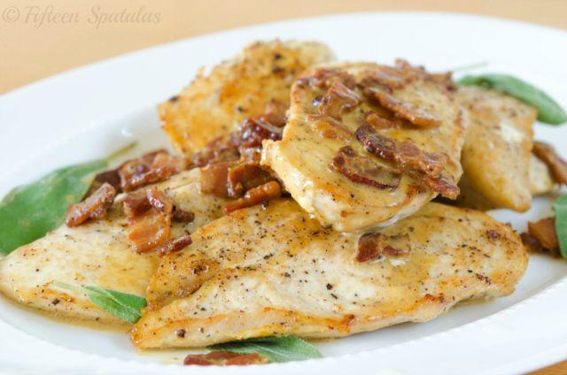 Sauteed Chicken with Sage and Mustard Cream Sauce | Recipe