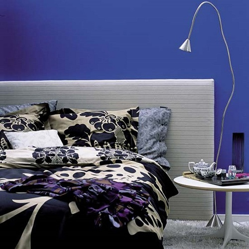 Blue Interior Paint Adorable With Blue Bedroom Paint Color Ideas Images