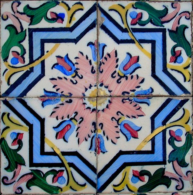 Portuguese tile portuguese tiles azulejos de portugal for Azulejo azul