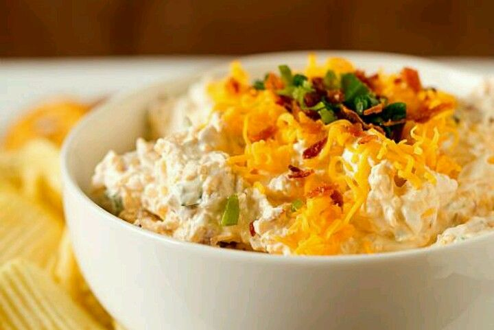 Loaded baked potato dip | Tasty Stuff | Pinterest