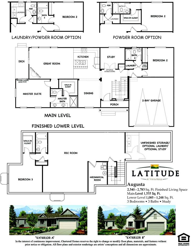 Augusta Floor Plan Latitude Floor Plans Pinterest