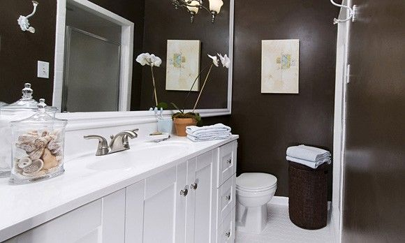 modern small bathroom makeovers ideas For the Home