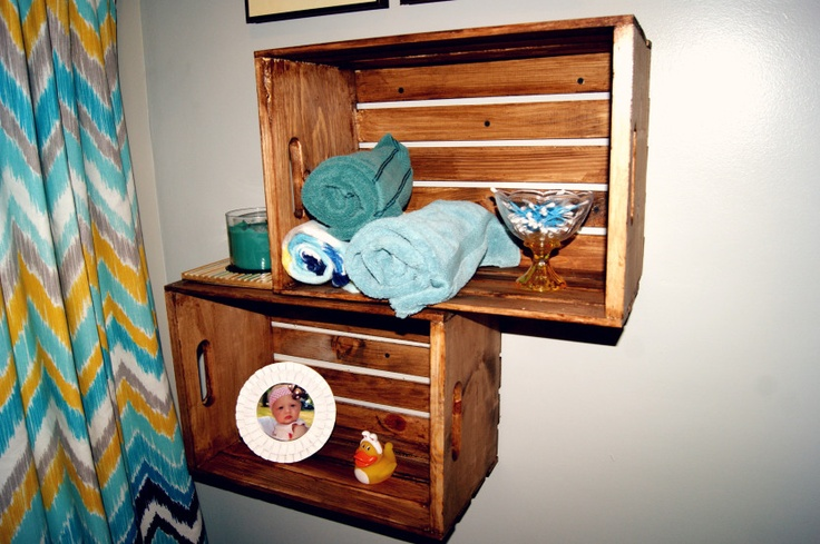 Lastest Small Wooden Crate Hanging Shelf Wall Fixture Shelves For Spice Rack