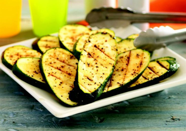 Grilled zuchini | Vegetable Side Dishes | Pinterest