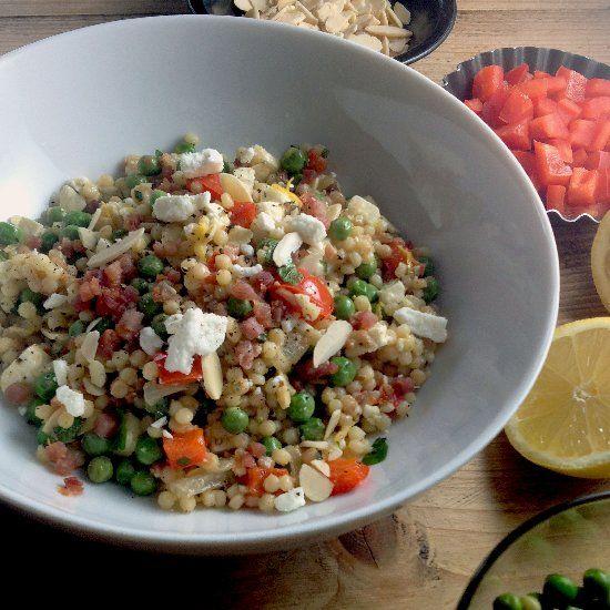 Spring Salad of Israeli Couscous | HH SALADS | Pinterest