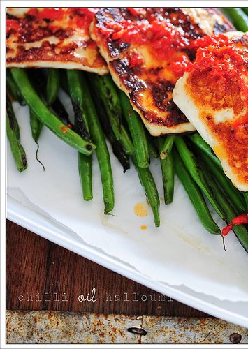 Halloumi With Chilli Recipe — Dishmaps