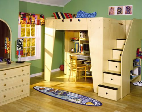 Cheerful loft bedroom concepts for kids kids 39 rooms for Bedroom concepts