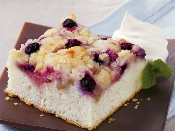 Rhu-Berry Snack Cake (has rhubarb and blueberries)