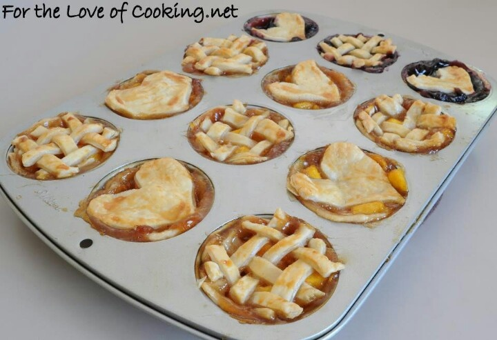 Mini Peach Pies 2 pie crusts (homemade or store bought) 5 peaches ...