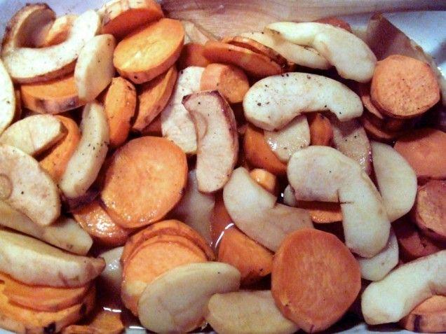 Apple Baked Sweet Potatoes | Recipe