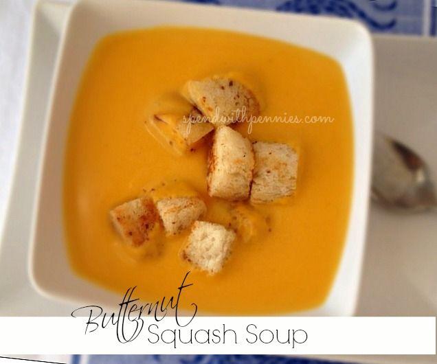 Butternut Squash Soup | Recipe