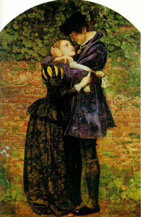 Millais.. Huguenot Lovers