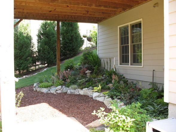 Under Deck Garden Ideas : Shade garden ideas under a deck minnesota photograph