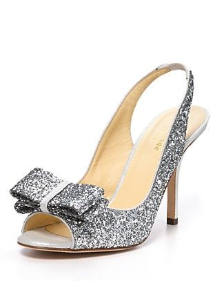 kate spade new york Pumps - Charm Glitter | Bloomingdale's