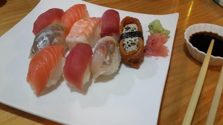 Sushi variado, Bambu
