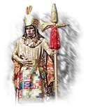 16 - Aplicando estos indicios, dedique algunos años de paciente búsqueda para encontrar un personaje similar en el mundo mágico andino. Por fin la investigación dio sus frutos, fue una gran logro descubrir a nuestro heraldo, que precisamente no se parecía a Hermes, me refiero a Chiwake.