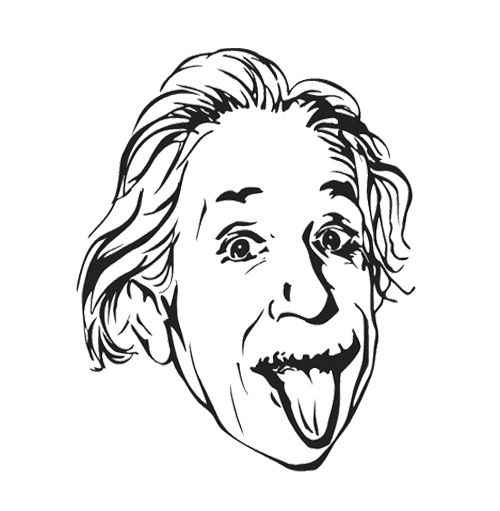 Printable Albert Einstein Coloring Pages Kids Coloring Albert Einstein Coloring Pages