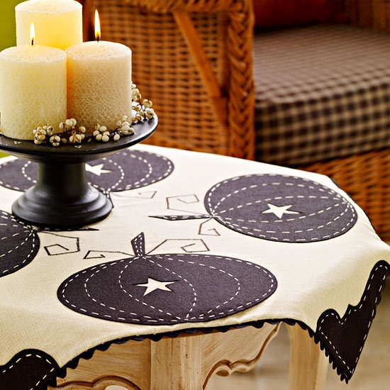 Elegant Pumpkin Tablecloth