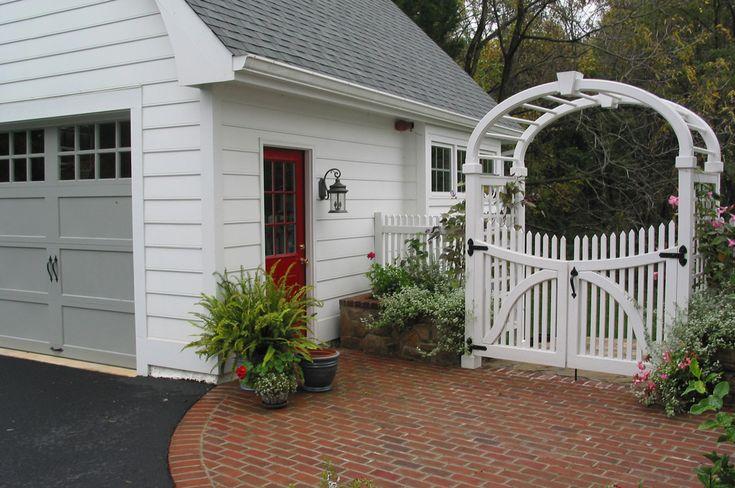 detached garage and breezeway | Garage | Pinterest