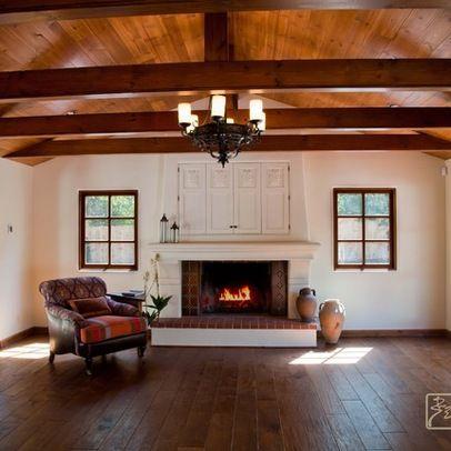 Farmhouse fireplace design idea favorite places spaces for Farmhouse fireplace decor