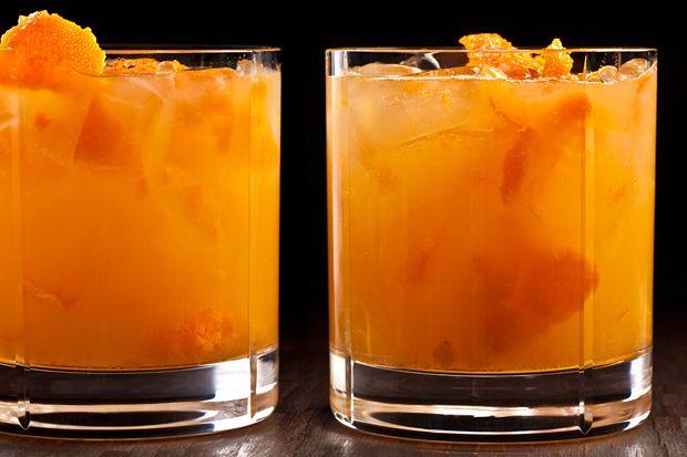 Kumquat Caipirinha - made with kumquats, Cachaca & fresh lime juice
