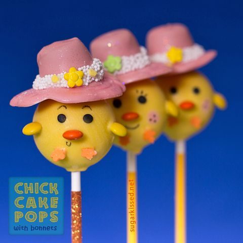 Chick Cake Pops Images : Chick Cake Pops EASTER LOVE Pinterest