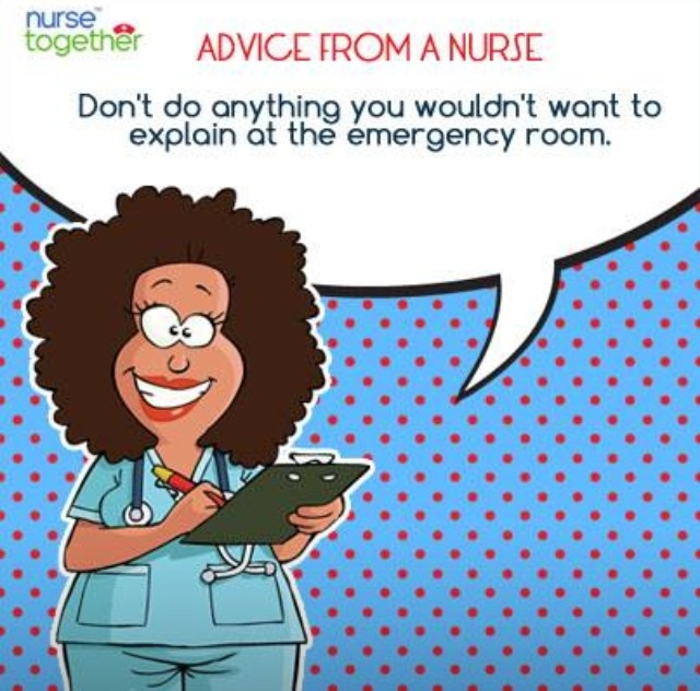 advice from a nurse and.