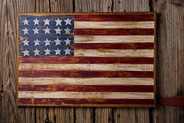 American flag art wood the image kid American flag wood wall art