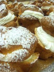 St. Joseph Day Cream Puffs - Pistachio | St. Joseph's Day | Pinterest