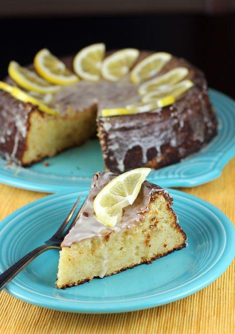 Meyer Lemon Cake using 1 pound of Meyer Lemons!