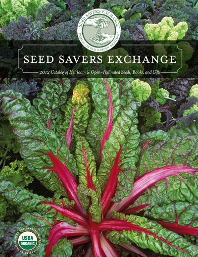 Seed Savers Exchange.... Mostly heirloom seeds, this catalog features some of the most beautiful flowers, fruits, and vegetables.