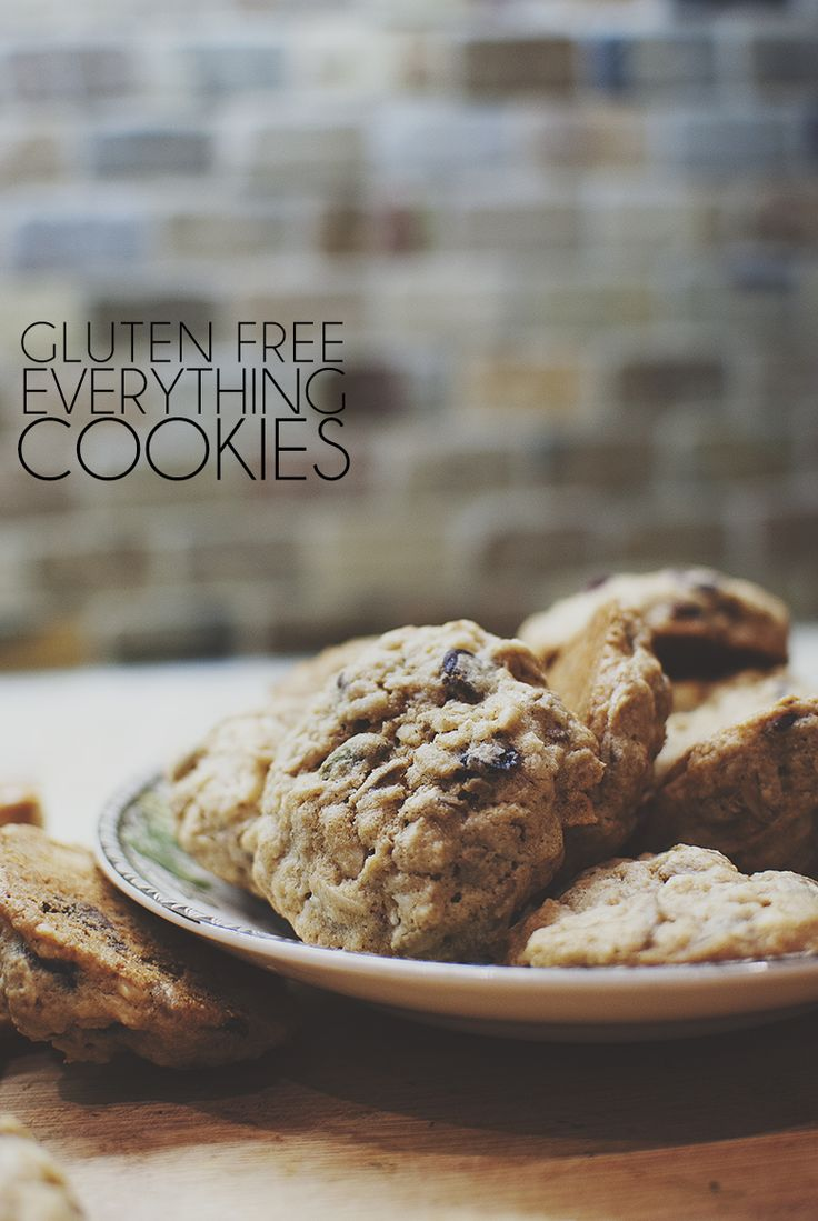 Gluten Free Everything Cookies | Recipes to Try | Pinterest