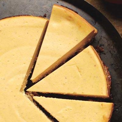 Pumpkin-Gingersnap Cheesecake   Recipe