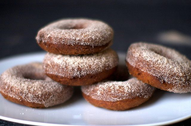 apple cider doughnuts by smitten, via Flickr