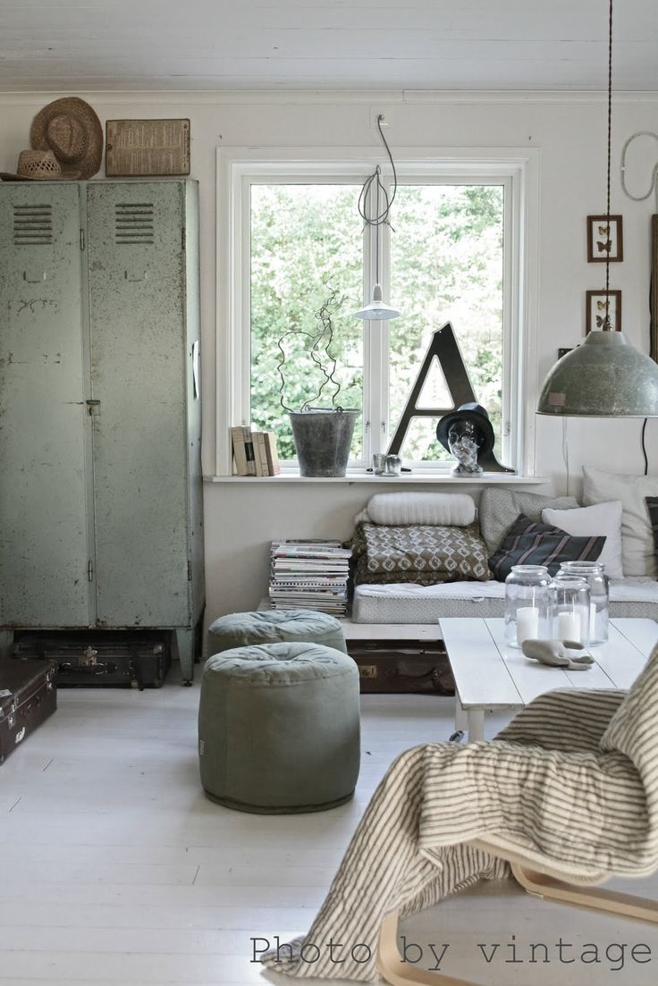 Industrial living room pinterest for Interieur design ideeen