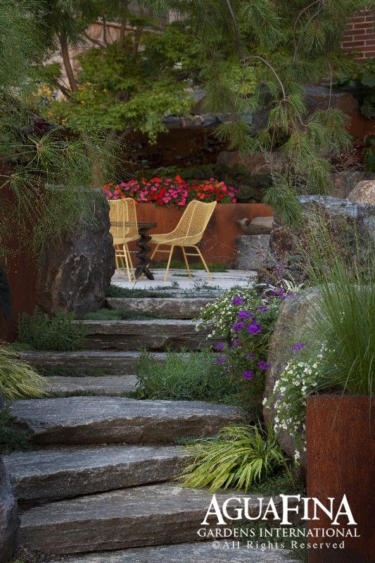 Lake House Backyard Ideas : like the grasses  Landscaping Ideas for the lake house  Pinterest