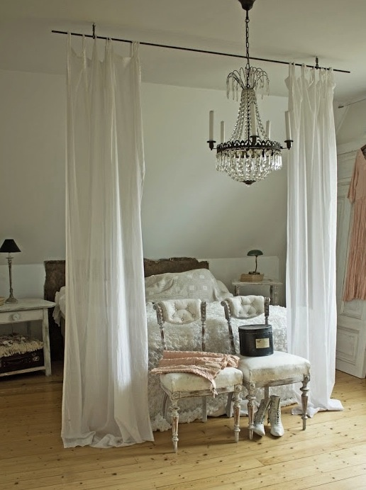 me more than the other one curtain rod above bed bedroom decor idea