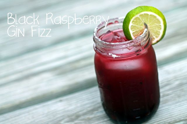 Black Raspberry Gin Fizz | Drinks, Cocktails and Margaritas | Pintere ...