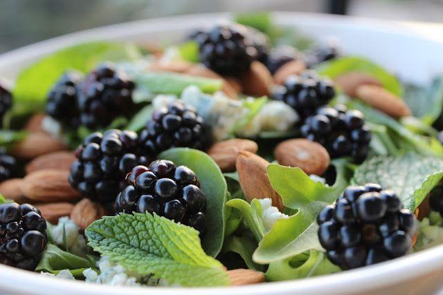 Blackberry salad | Health | Pinterest