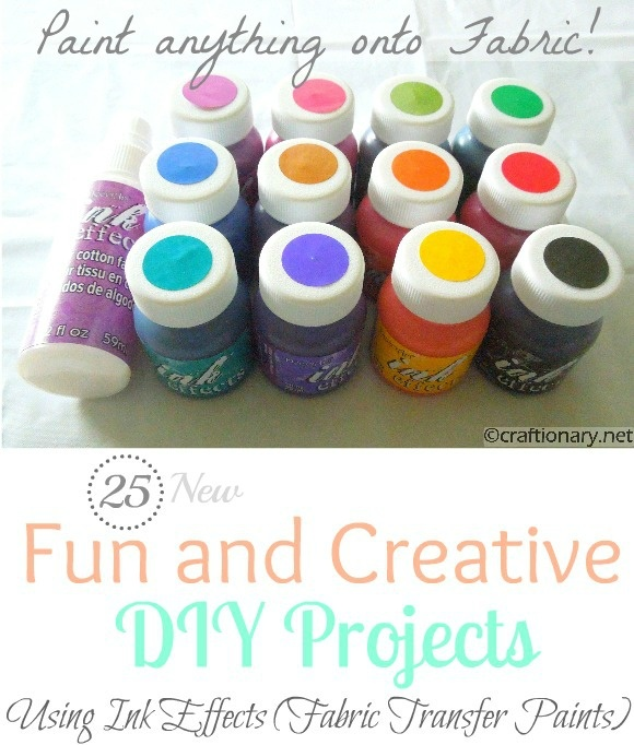 25 fabric transfer paint diy projects