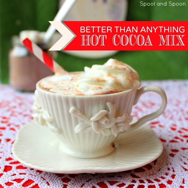 Better Than Anything Hot Cocoa --Cocoa powder. Dark chocolate shavings ...