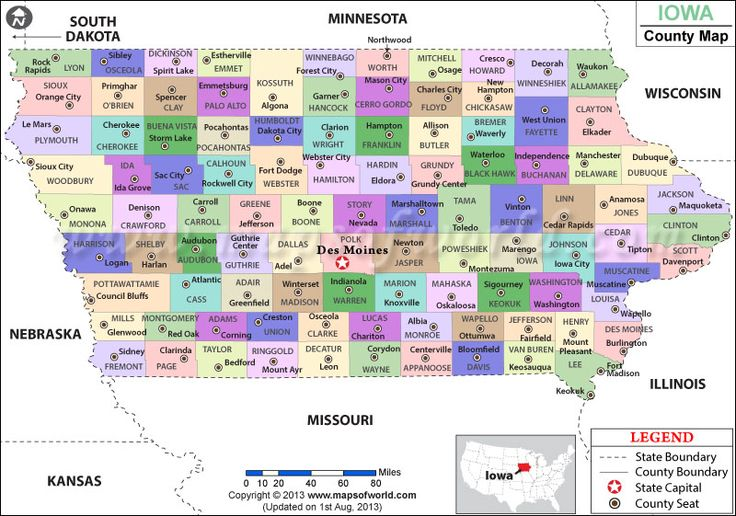 Iowa County Map  Genealogy  Pinterest