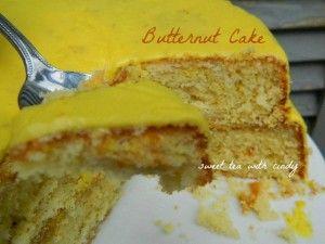 Butternut Flavoring Cake Recipe