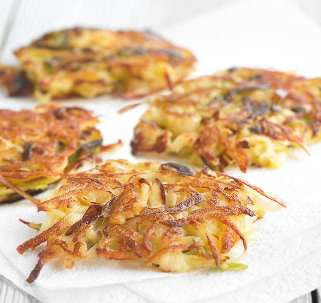 You won't find a better image of rosti potatoes hairy